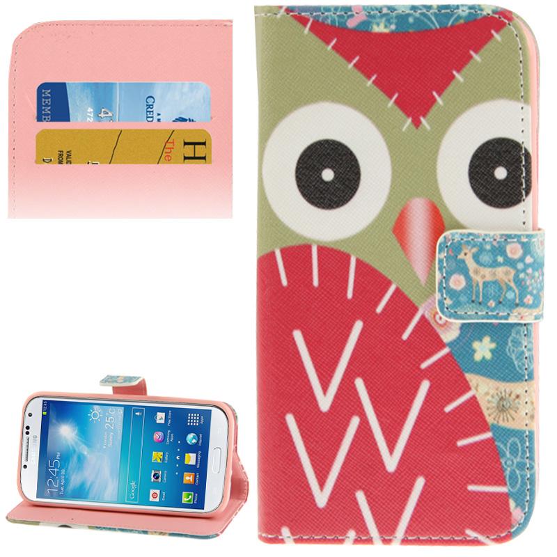 Galaxy Handyhülle S4 Flip Für Case Eulen Samsung htdQsrCx