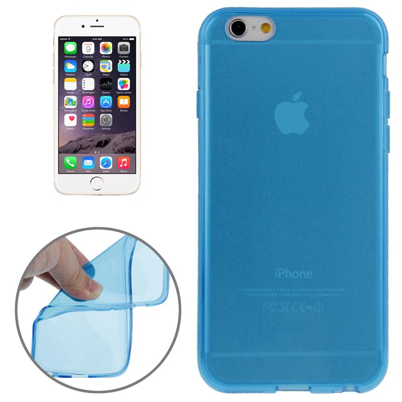 handyh lle tpu silikon f r apple iphone 6 blau. Black Bedroom Furniture Sets. Home Design Ideas