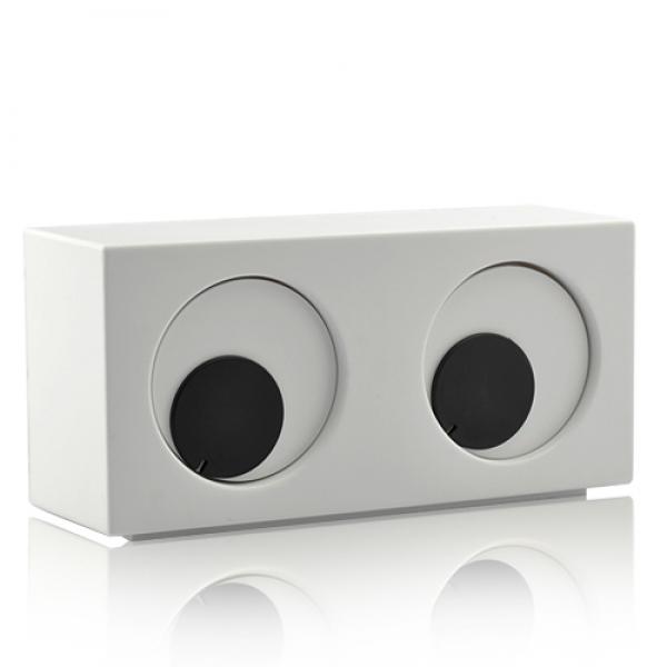 eye clock die verr ckte uhr die mit augen rollt tischuhr gadget geschenk ebay. Black Bedroom Furniture Sets. Home Design Ideas